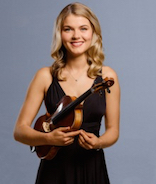 Bridget Odonnell with violin
